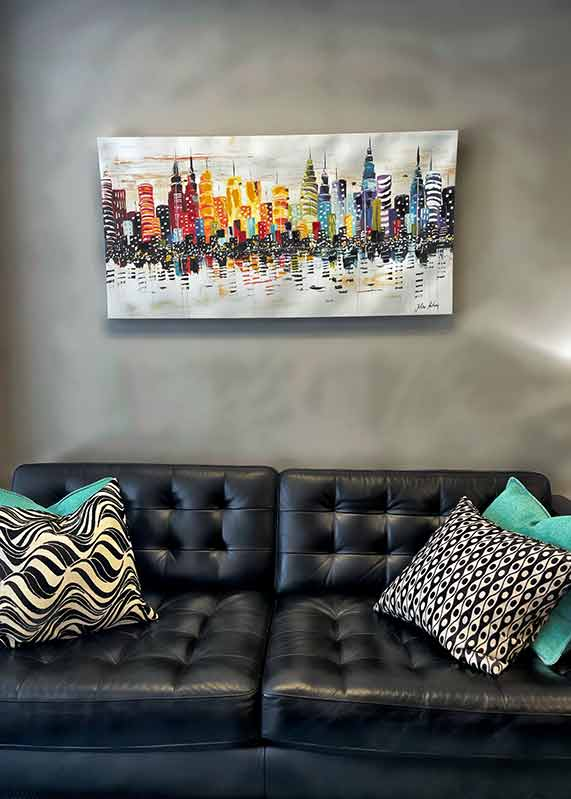 Comfortable Sofas - Private Matters Psychotherapy