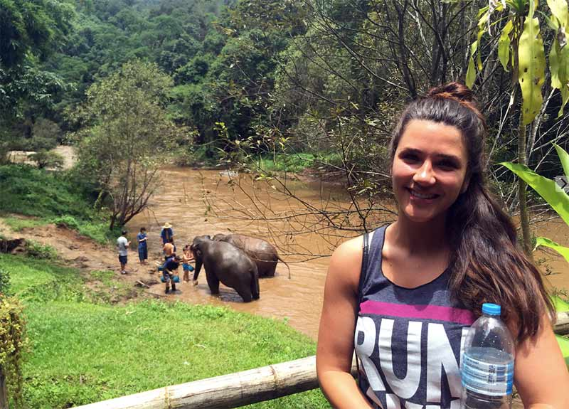 Thailand with the elephants 2016