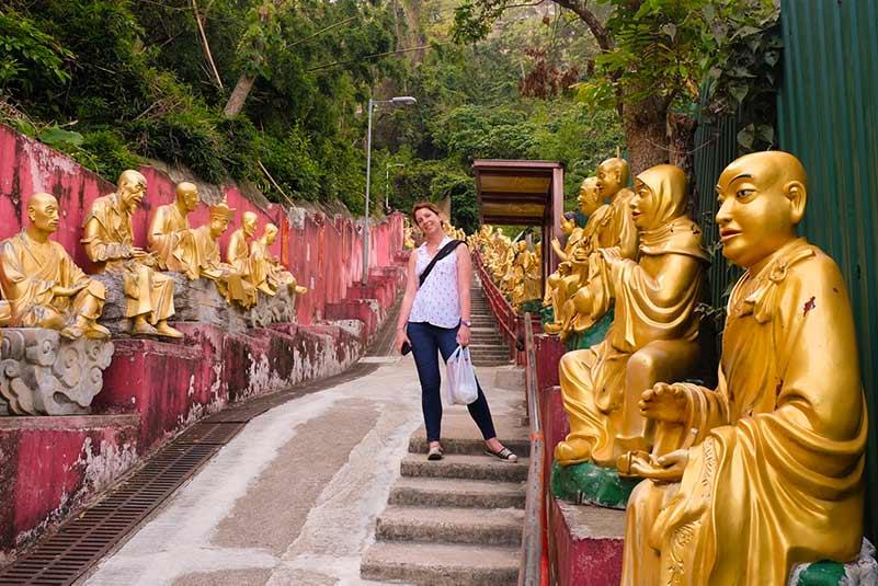 Ten Thousand Buddhas Monastery of Hong Kong