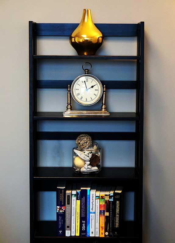 Bookshelf - Private Matters Psychotherapy